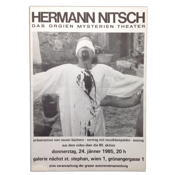 Hermann Nitsch. Das Orgien Mysterien Theater