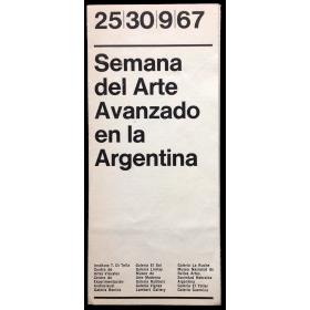 Semana del Arte Avanzado en la Argentina