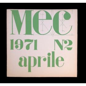 MEC. Nº 2. Aprile 1971
