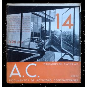 A. C. Documentos de Actividad Contemporánea. Revista trimestral. Nº 14