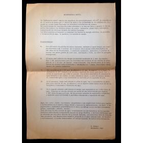 """Hidromural móvil"" - G. Kosice, Diciembre 1966"