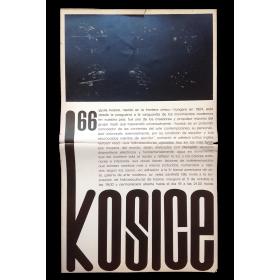 Kosice 66 - Hidroesculturas. Galería de Arte Moderno, [Córdoba, Argentina], 5 de octubre 1966