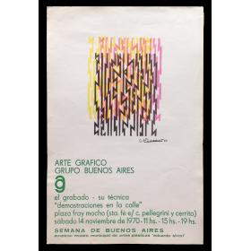 Arte Gráfico Grupo Buenos Aires. El Grabado - Su Técnica