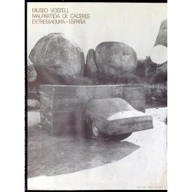 """Museo Vostell, Malpartida de Cáceres, Extremadura, España: Vostell """"Voaex"""", Ambiente, 1976, MVM"""