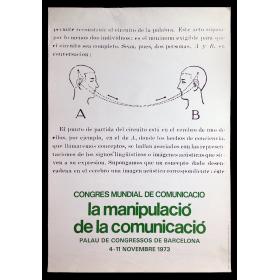 Congres Mundial de Comunicació. La manipulació de la comunicació. Palau de Congressos de Barcelona, 4-11 novembre 1973