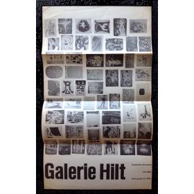 Galerie Hilt. Exposition Gravures, Eté 1962, Bâle (Suisse)