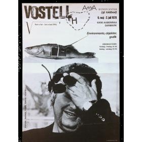 Vostell. Environments, objekter, grafik. Anya Kunstcenter, Aabenraa, Danmark, 6 maj - 2 juli 1978