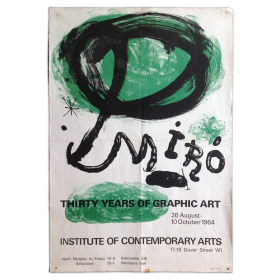 Miro, Thirty Years of Graphic Art, Institute of Contemporary Arts