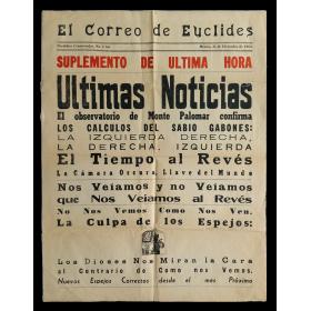 El Correo de Euclides. Periódico Conservador, No. 3 bis. México, 31 de Diciembre de 1963