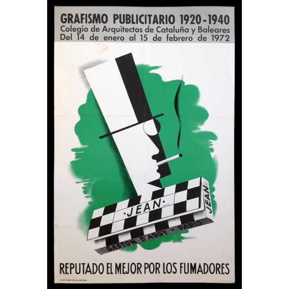 Grafismo Publicitario 1920-1940. Colegio de Arquitectos de Cataluña y Baleares, Barcelona, 14 de enero a 15 de febrero de 1972