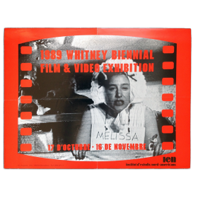 1989 Whitney Biennial Film & Video Exhibition. IEN, Barcelona, 17 d'octubre - 16 de novembre