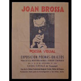 Joan Brossa - Poesía visual. Exposición poemas-objetos