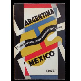 Participación argentina en la I Exposición Bienal Interamericana de pintura y grabado de México 1958