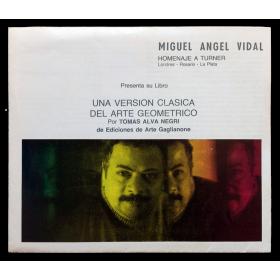 Miguel Angel Vidal. Homenaje a Turner. Londres - Rosario - La Plata