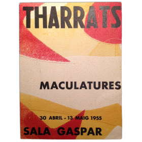 Tharrats. Maculatures