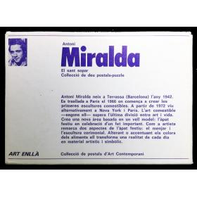 Antoni Miralda. El sant sopar. Col·lecció de deu postals-puzzle