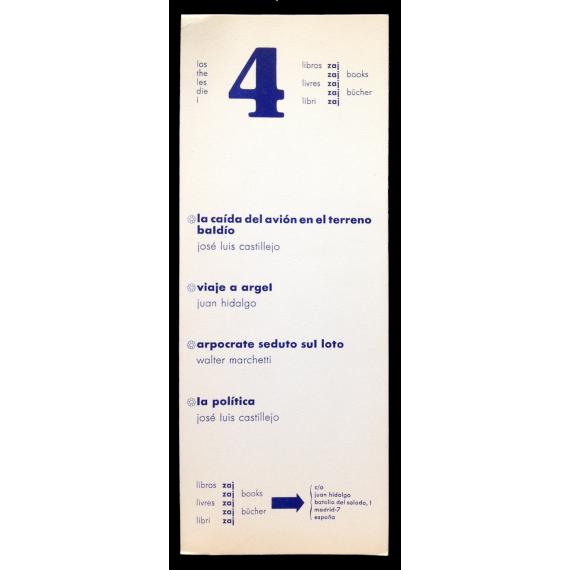 Los 4 libros zaj