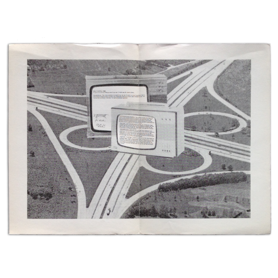 Wolf Vostell. Drive-Muzeum 1969. Galeria Foksal Psp, Warszawa, [febrero-marzo] 1972