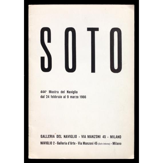 Soto. Galleria del Naviglio, Milano, 24 febbraio al 9 marzo 1966