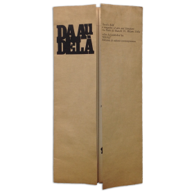 DA AU DELA. Da-a/u delà,  no. 1 - ottobre 1966. A magazine of arts and literature
