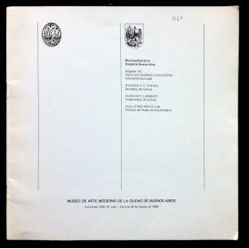 Carlos Silva. Museo de Arte Moderno de la Ciudad de Buenos Aires, del 6 al 24 de agosto de 1980