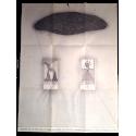 Después del eclipse. Zush. Galería Vandrés, Madrid, octubre-noviembre 1976