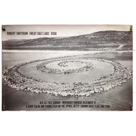 Robert Smithson Great Salt Lake Utah