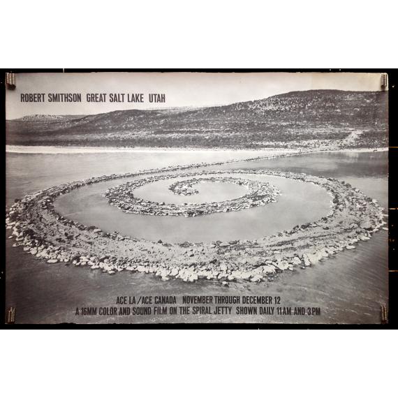 Robert Smithson Great Salt Lake Utah