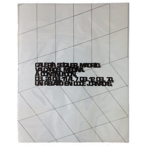 Valcárcel Medina - A continuación. Un relato en doce jornadas