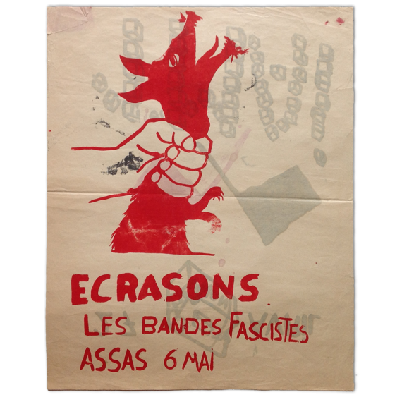 Ecrasons Les Bandes Fascistes, Assas 6 Mai