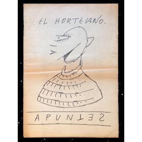 El Hortelano - Apuntes. Galería René Metras, Barcelona, 15 de abril al 10 de mayo de 1980