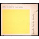 Arte Concreto-Invención. Sociedad Hebraica Argentina, Buenos Aires, del 19 de agosto al 9 septiembre