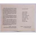 Nueve artistas proponen nueve comunicaciones para el año 2000. Centro de Artes Visuales, La Plata, 16 al 31 de Julio de 1983