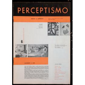 PERCEPTISMO. Teórico y polémico, Nº 6. Número especial aniversario. Enero de 1953