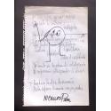 """Ni socio listo ni capitalista"" - Poema visual Nicanor Parra"