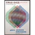 Cruz-Díez. Oeuvres de 1954.1965. Galerie Jacques Kerchache, Paris, octobre-novembre 1965
