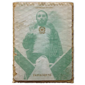 Silvano Belardinelli: passaporto. CC-Internationaal Cultureel Centrum, Antwerpen, maart-april 1973