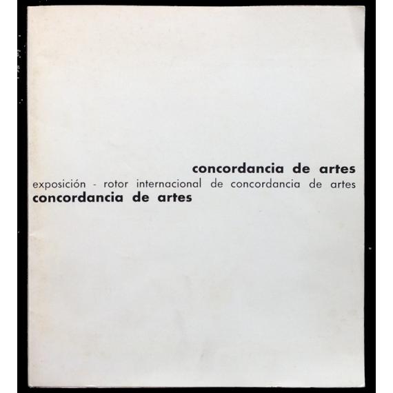 Concordancia de artes. Exposición rotor internacional de concordancia de artes