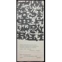 Audición internacional de poesía fónica - Exposición internacional de la nueva poesía - Exposición de ediciones de vanguardia