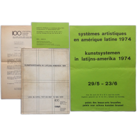 Kunstsystemen in Latijns-Amerika 1974, van 25 april tot en met 19 mei 1974