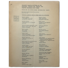 Asociación Argentina de Críticos de Arte: Colección argentina para un futuro museo en las Malvinas