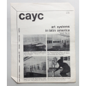 Arte de sistemas. Centro de Arte y Comunicación en el Museo de Arte Moderno de la Ciudad de Buenos Aires, Julio 1971