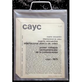 Cuarto encuentro internacional abierto de video - Primer coloquio latinoamericano de la comunicación. CAyC, 1975