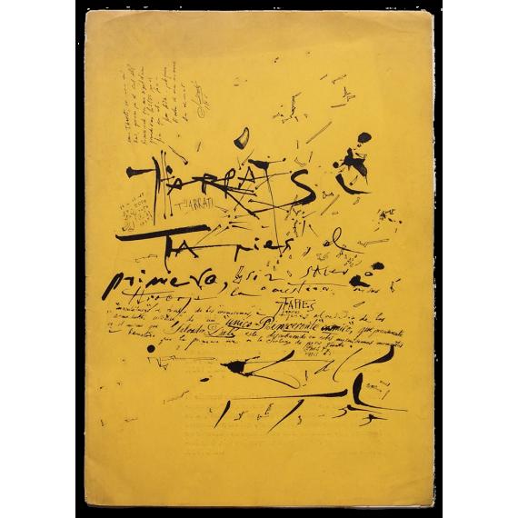 Tharrats i Tàpies. Sturegalleriet, Stockholm, 22 novembre – 6 décembre 1955