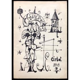Sueños, J. E. Cirlot 1949. Dau al Set, [Barcelona] – Juny del 1949