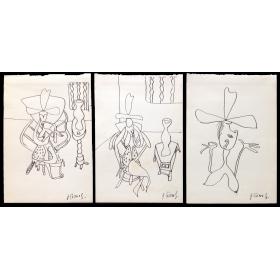 Serie dibujos originales - Jorge Cáceres