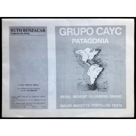 Grupo CAyC - Patagonia. Ruth Benzacar Galería de Arte, Buenos Aires, Septiembre de 1988