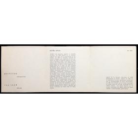 Portillos, integración - Rey José, dibujo. Galería Florida, [Buenos Aires], 26 de noviembre 1962