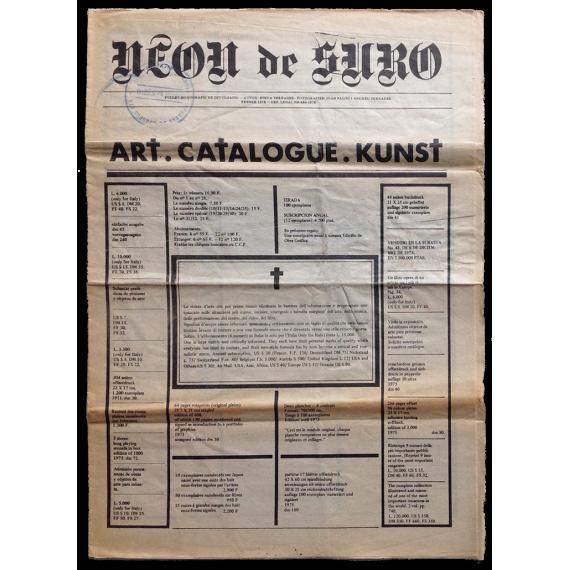 Neon de Suro. Fullet monogràfic de divulgació. Autor: Steva Terrades. Febrer 1978