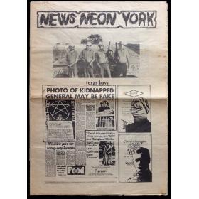 Neon de Suro. Fullet monogràfic de divulgació. Autor: Col·lectiu News Neon York. Març 1982